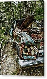 Abandon Car Acrylic Print by Greg Horler
