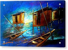 Abandoned At Aleibri Acrylic Print