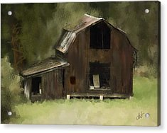 Abandoned Barn Acrylic Print by Dale Stillman
