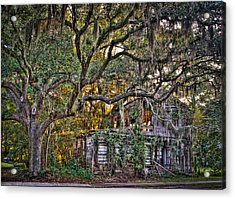 Abandoned But Not Forgotten Acrylic Print