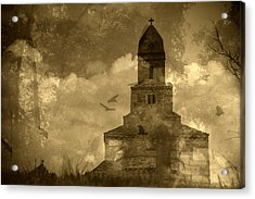 Abandoned Church Acrylic Print