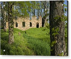 Acrylic Print featuring the photograph Abandoned Cider Mill by Jim Moore