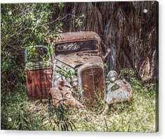Abandoned Acrylic Print by Cindy Nunn