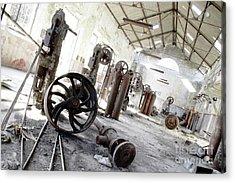 Abandoned Factory Acrylic Print by Carlos Caetano