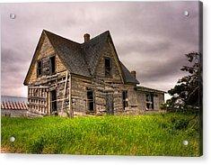 Abandoned Farm House Acrylic Print by Matt Dobson