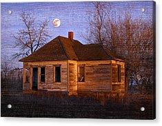 Abandoned Farm House Acrylic Print by Richard Wear