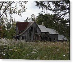 Abandoned Farmhouse 1 Acrylic Print by Bruce Ritchie