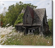 Abandoned Farmhouse 2 Acrylic Print by Bruce Ritchie