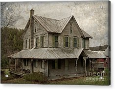 Abandoned Homestead Acrylic Print by John Stephens