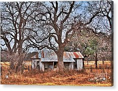 Acrylic Print featuring the photograph Abandoned House 512.3 by Joe Finney