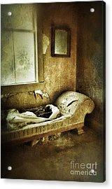 Abandoned Parlor Acrylic Print by Jill Battaglia