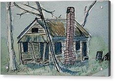 Abandoned Acrylic Print by Spencer  Joyner