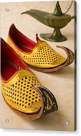 Abarian Shoes Acrylic Print by Garry Gay