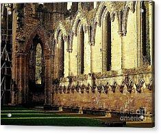 Abbey Ruins Acrylic Print