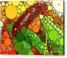 Abbondanza Acrylic Print by Christine Segalas