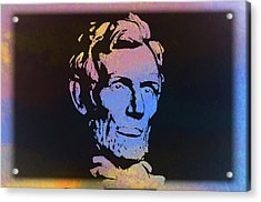 Abe Acrylic Print by Bill Cannon
