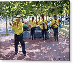 Abie Thomas At The Waterfront Acrylic Print