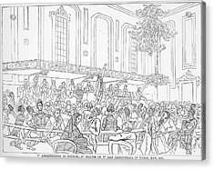 Abolition Cartoon, 1859 Acrylic Print by Granger