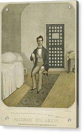 Abolitionist Passmore Williamson Acrylic Print by Everett