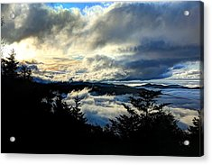 Above Below And Beyond Acrylic Print