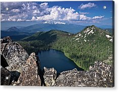 Above Castle Lake Acrylic Print