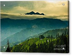 Above Clouds Acrylic Print by Syed Aqueel