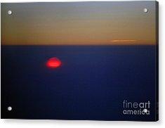 Above The Sunset Acrylic Print by Gib Martinez