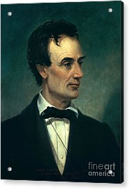 Abraham Lincoln, 16th American President Acrylic Print by Photo Researchers, Inc.