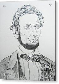 Abraham Lincoln Acrylic Print by John Keaton