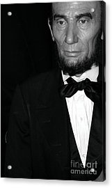 Abraham Lincoln Acrylic Print by Sophie Vigneault