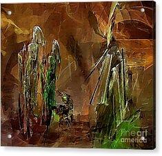 Abs 0191 Acrylic Print