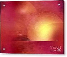 Abstract 11 Acrylic Print by John Krakora