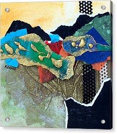 Abstract 2011 No.1 Acrylic Print by Kathy Braud
