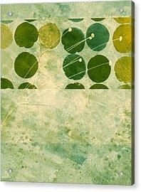 Abstract 207 Acrylic Print by Ann Powell