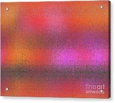 Abstract 245 Acrylic Print by John Krakora