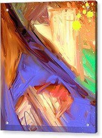 Abstract 4 Acrylic Print by Snake Jagger