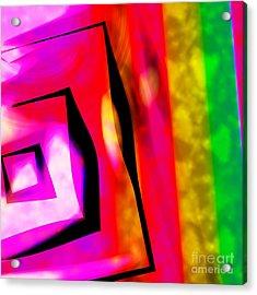 Abstract Angles And Lines Acrylic Print