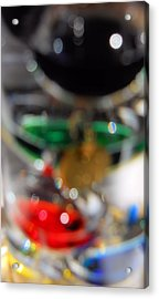 Acrylic Print featuring the photograph Abstract Colors by Lynnette Johns