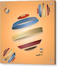 Abstract Design 9 Acrylic Print by Anthony Caruso