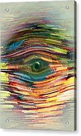 Abstract Eye Acrylic Print