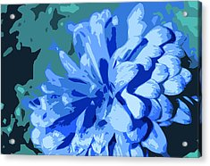 Abstract Flowers 2 Acrylic Print