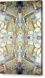 Abstract Fusion 67 Acrylic Print by Will Borden