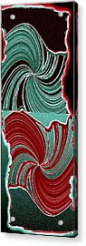 Abstract Fusion 88 Acrylic Print by Will Borden