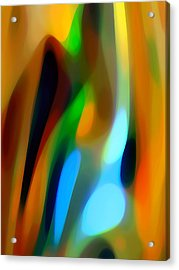 Abstract Garden Light Acrylic Print by Amy Vangsgard