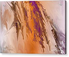 Abstract In July Acrylic Print by Deborah Benoit