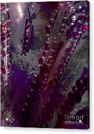 Abstract Jewels Acrylic Print by Doris Wood