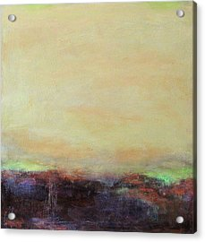 Abstract Landscape - Rose Hills Acrylic Print