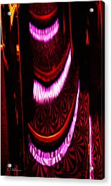 Abstract Magentas Acrylic Print by Christopher Holmes