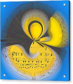 Abstract Music Acrylic Print