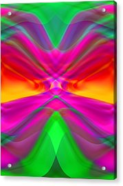 Abstract Acrylic Print by Pat Exum
